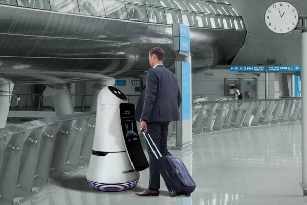 Роботи ќе им помагаат на патниците на аеродромите во Јужна Кореја