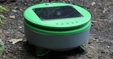 Tertill: Робот-градинар кој работи на соларна енергија