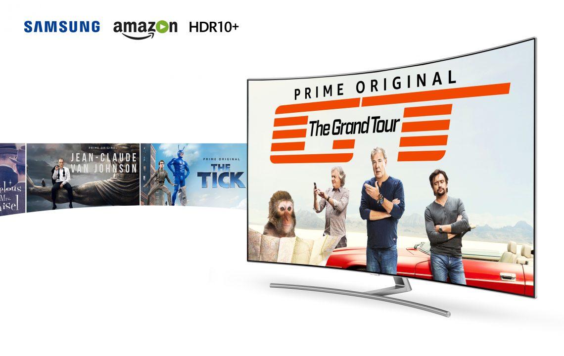 Samsung иAmazon Prime Video први со HDR10+ содржина