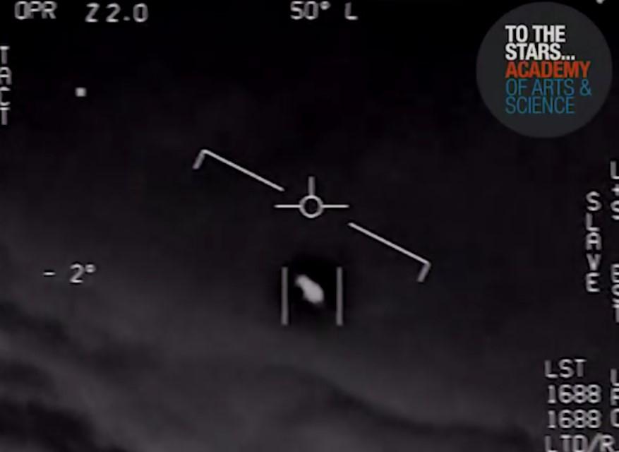 (ВИДЕО) Пентагон објави снимка од потера по НЛО