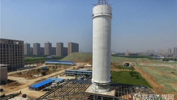 Во Кина пуштен во употреба најголемиот прочистувач на воздух во светот