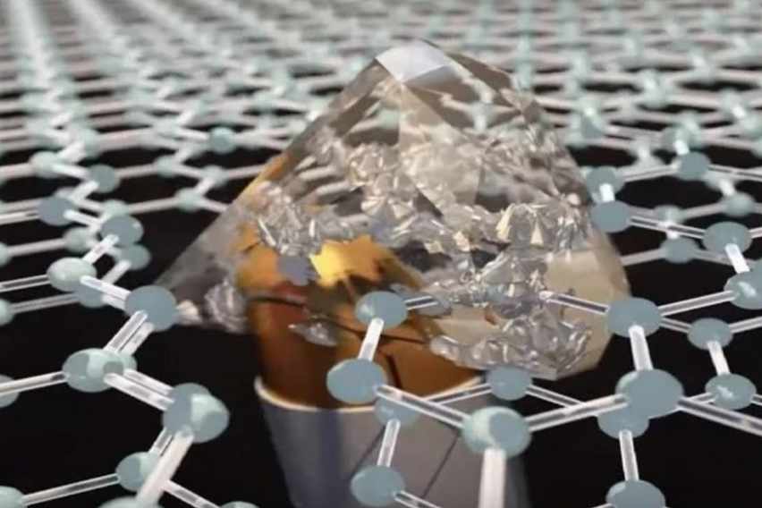 Материјал потенок од хартија  при удар на куршум станува поцврст од дијамант