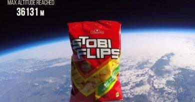 """""""Стоби Флипс"""" лансирани во Вселената (ВИДЕО)"""
