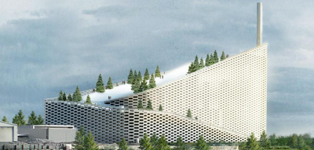 Данците градат електрана на ѓубре која ќе има скијачка патека