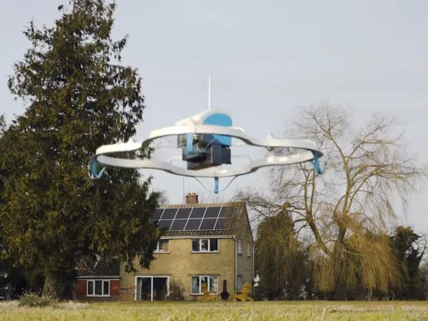 Употреба на дронови за транспорт, наместо камиони?