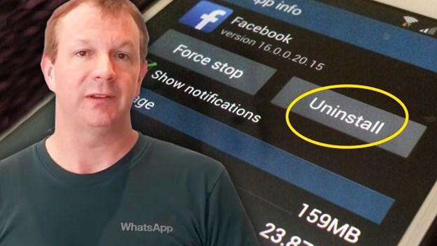 Основачот на WhatsApp повикува  Избришете гo Facebook профилот