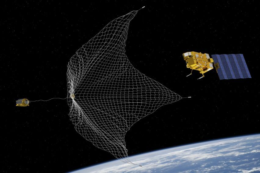 Зошто Европската вселенска агенција во вселената испраќа харпун и мрежа!