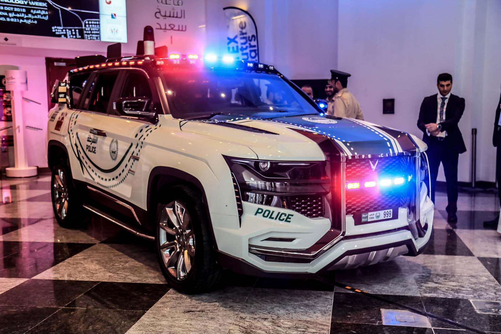 Најновото засилување на полицијата во Дубаи: Патролен ѕвер