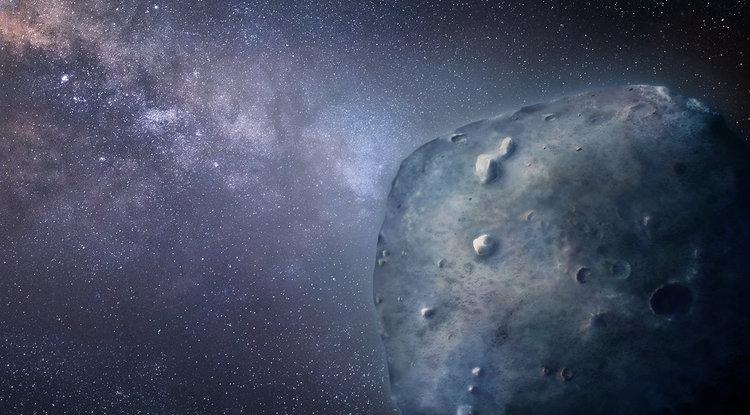 Редок син астероид со енигматични карактеристики
