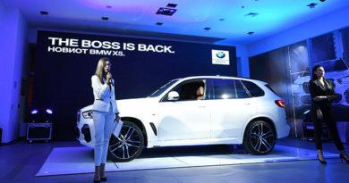 Новиот BMW X5 претставен во Македонија