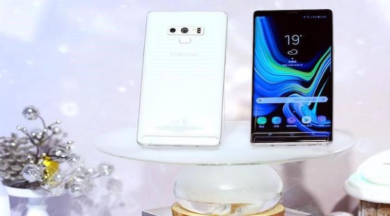 Samsung го претстави белиот Galaxy Note 9