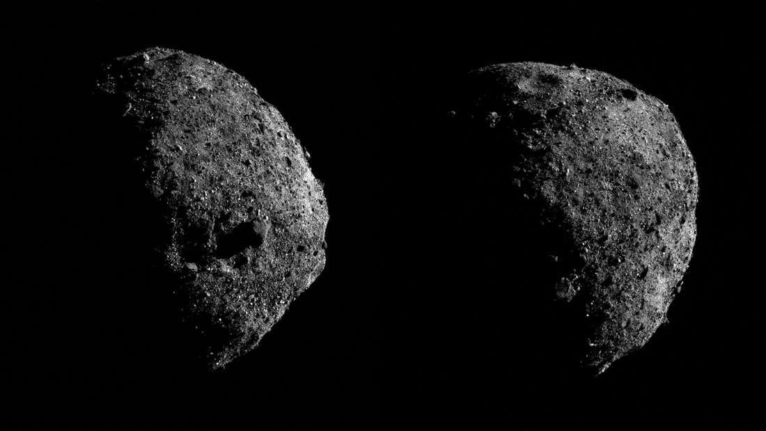 Нови фотографии од астероидот Бену