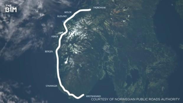 Норвешка отвора подводни тунели низ фјордовите