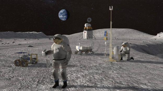 NASA сака да испрати астронаути на Месечината за пет години