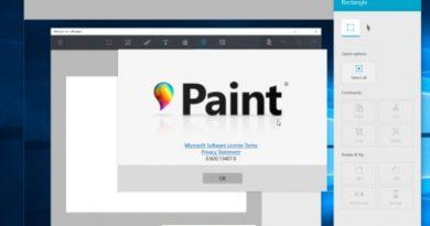 Microsoft засега не го отстранува Paint од Windows 10