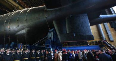 Русија ја претстави најдолгата подморница на светот (ВИДЕО)