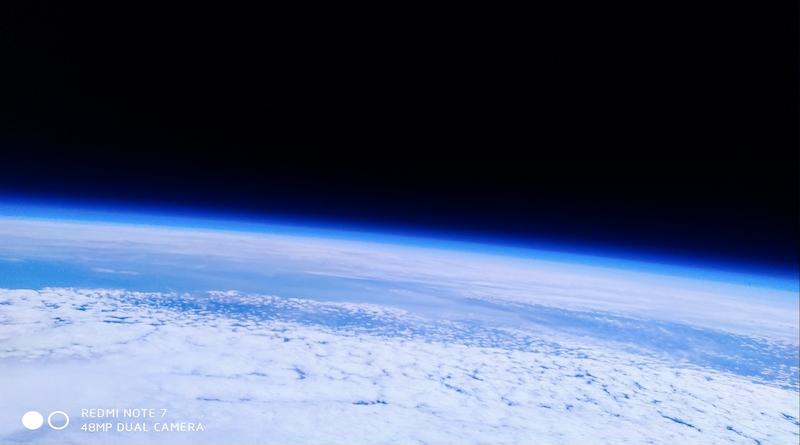 Redmi Note 7 испратен во вселената, се врати без оштетувања (ВИДЕО)