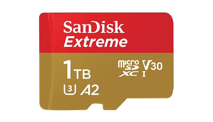 microSD картичката на SanDisk од 1 TB чини 449 долари
