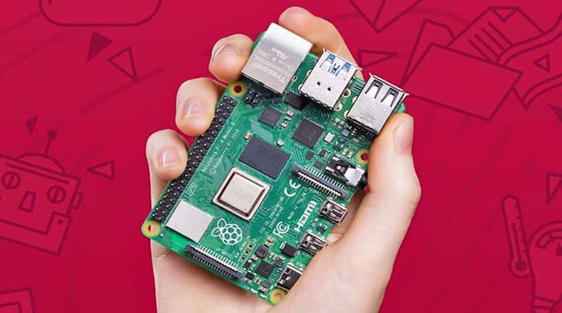 Претставен минијатурниот суперевтин компјутер Raspberry Pi 4