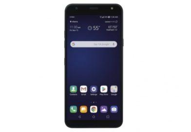 Рендер на LG Harmony 3 прикажува долг екран и копче за Google Assistant
