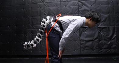 Јапонците создадоа роботска опашка за луѓе (ВИДЕО)