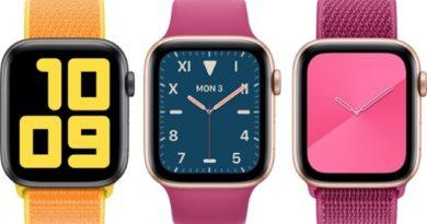 Apple Watch Series 5 пристигнува оваа есен