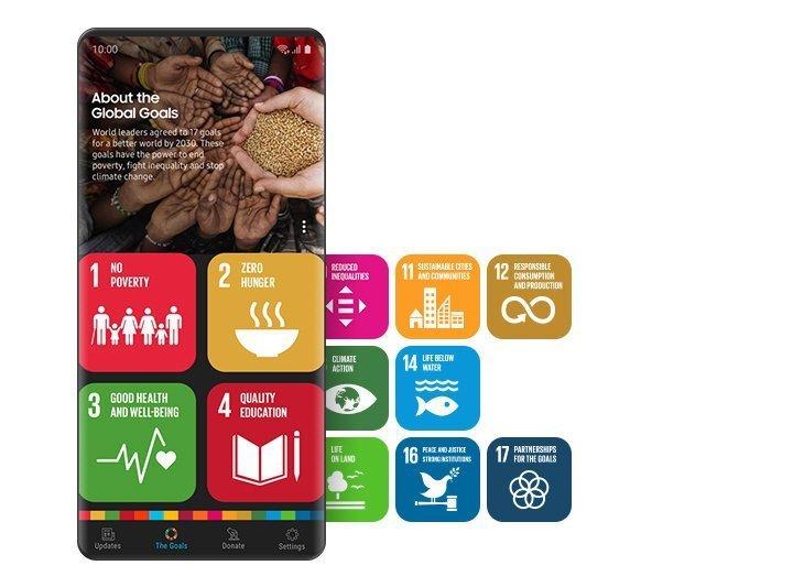 Партнерот на Програмата за Развој на ОН, Samsung во поддршка на Глобалните цели
