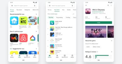 Новиот поедноставен дизајн на Play Store веќе e достапен за преземање
