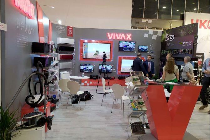 Vivax заедно со MS Start и MS Energy од M SAN претставени на IFA 2019 во Берлин