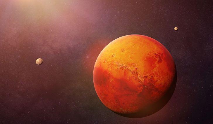 НАСА сними лавина на Марс