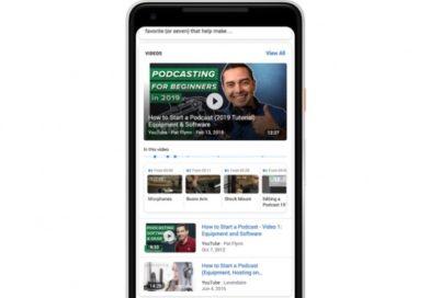 Google ќе обележува битни делови на видеата во резултатите на пребарување