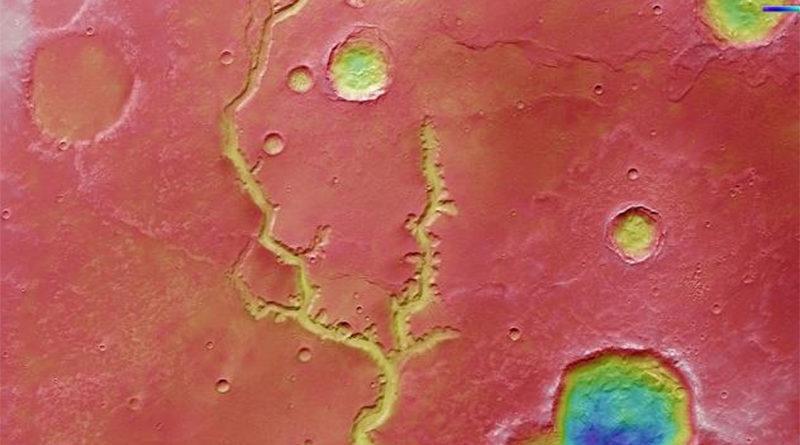 Европската вселенска агенција објави фотографии од речното корито на Марс