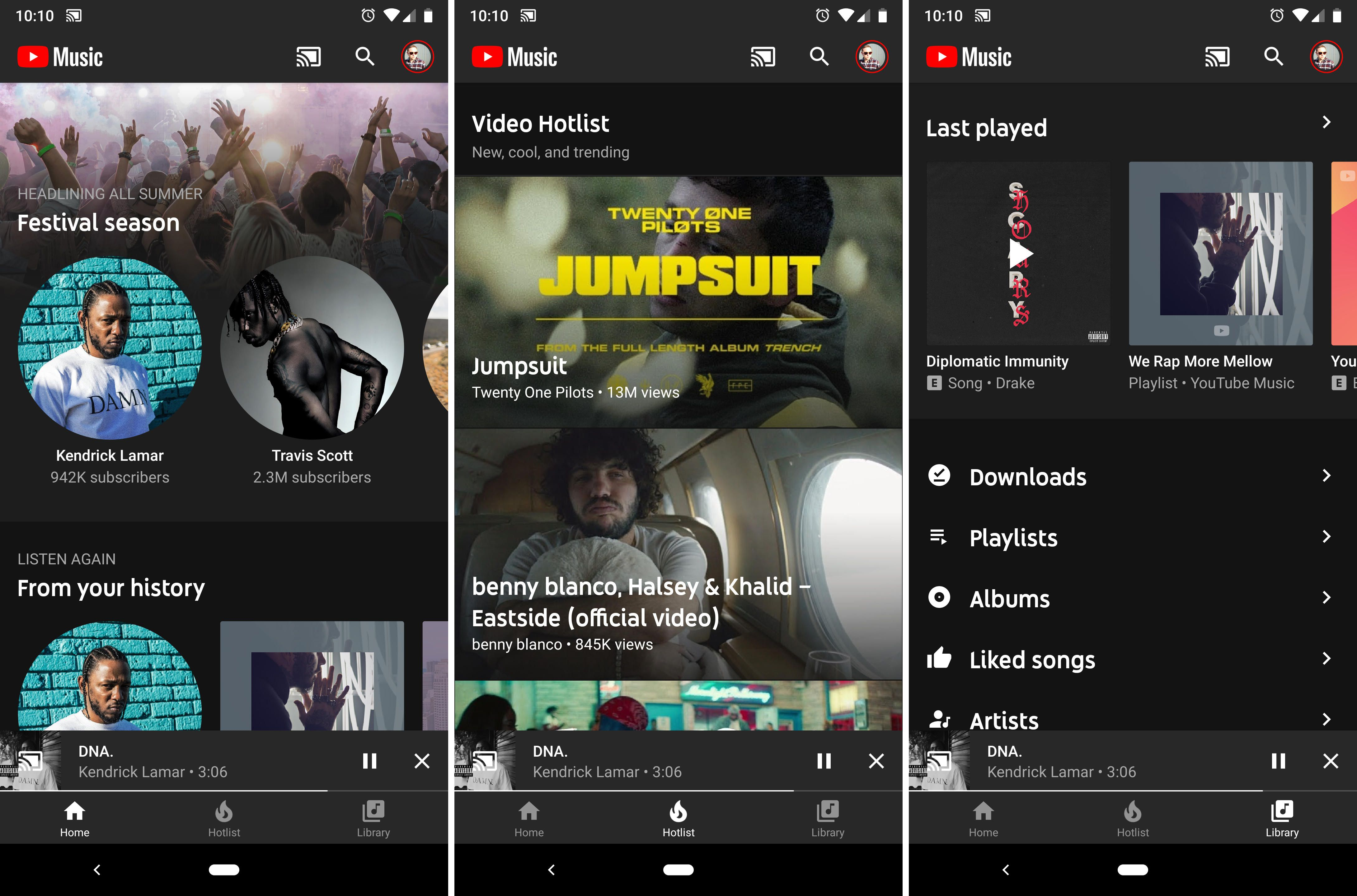 YouTube Music ќе го замени Google Play Music на Android
