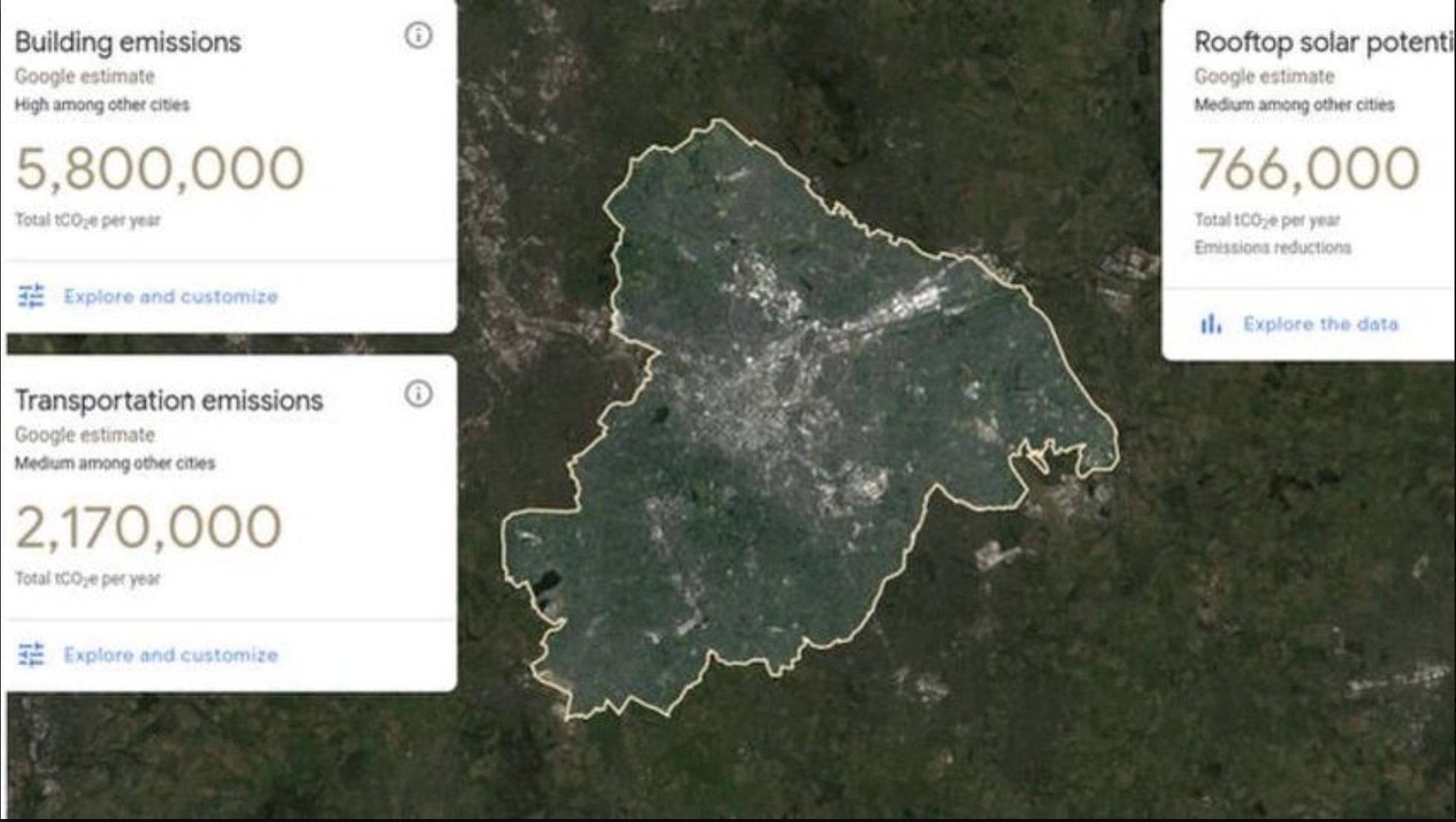 Google им овозможи на европските градови да ја мерат загаденоста и емисиите