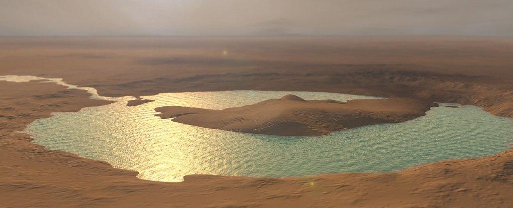 Питката вода на Марс стана солена
