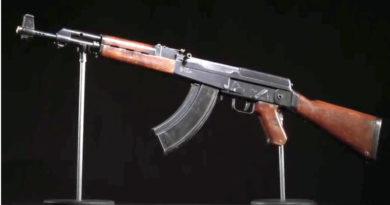 "Првиот автомат ""Калашников"" прикажан на видеоснимка (ВИДЕО)"