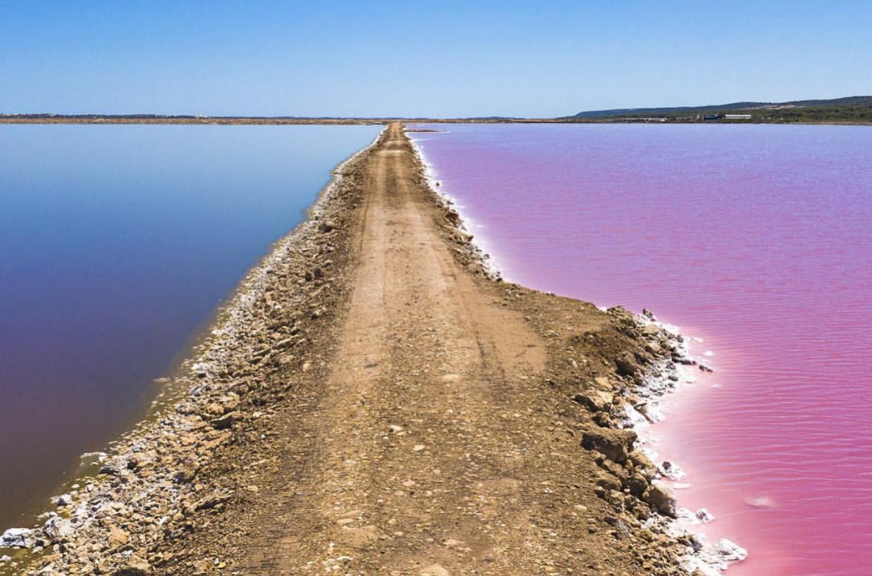 Мистерија стара два века: Розовото езеро во западна Австралија (ВИДЕО)