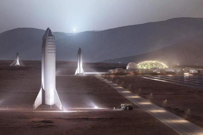 Елон Маск планира да го изгради првиот град на Марс