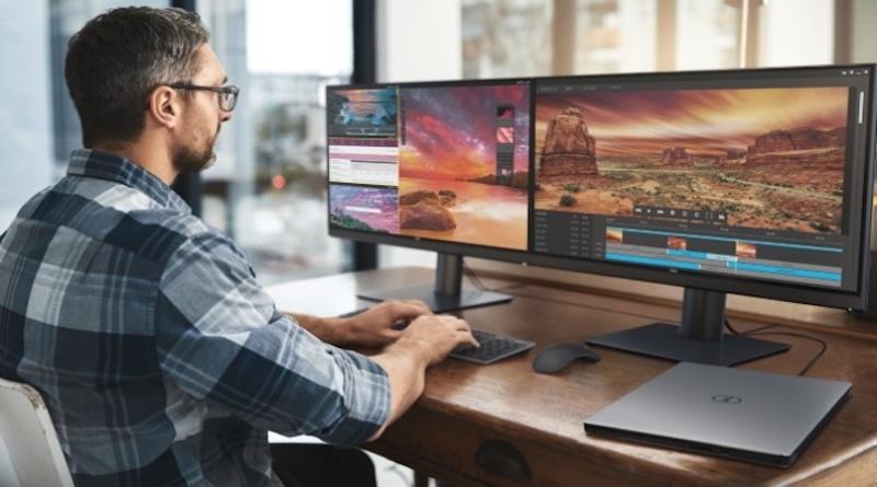 Dell претстави монитор со вграден калибратор на бои