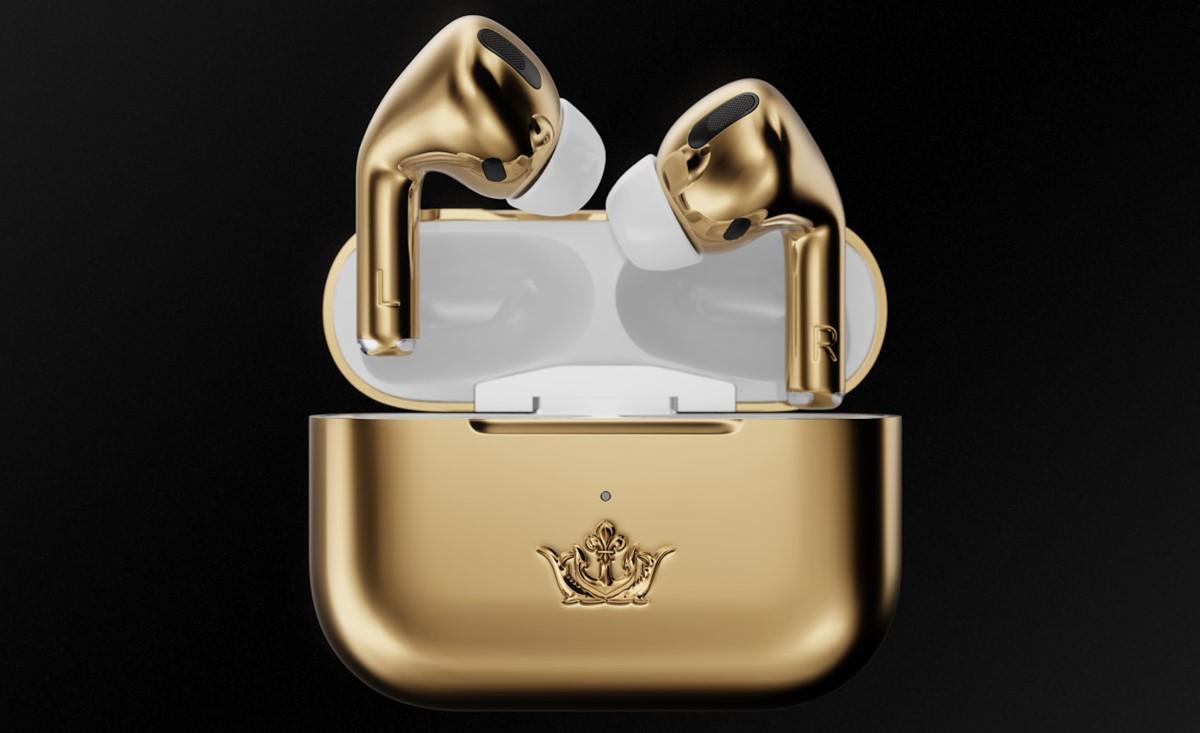 Caviar AirPods Pro Gold Edition, безжични слушалки од 60 илјади долари