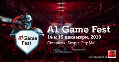 A1 Game Fest 2019 – најголемиот гејминг настан за оваа година