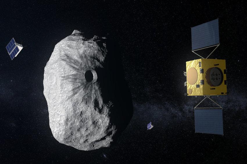 Европската вселенска агенција ја одобри мисијата Хера против астероиди (ВИДЕО)