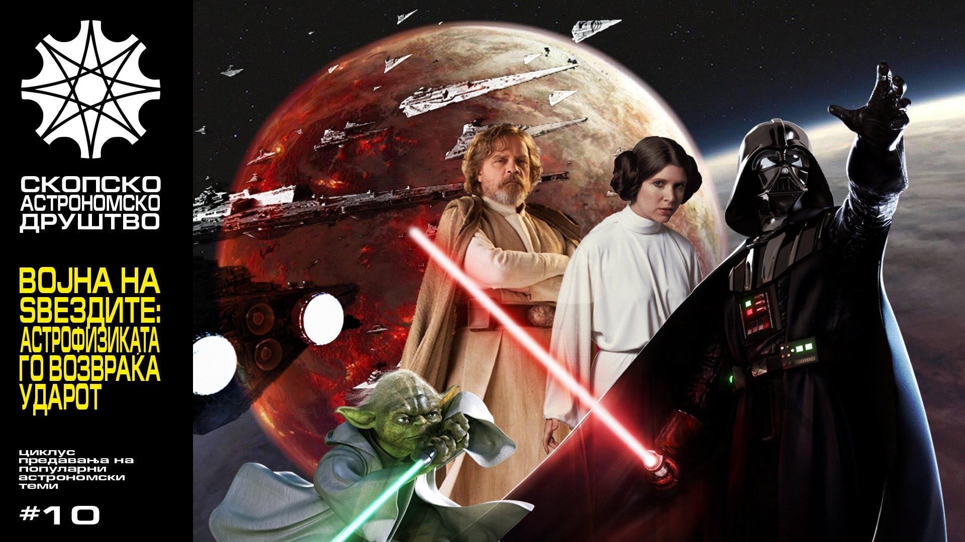 Предавање: Војна на ѕвездите – Астрофизиката го возвраќа ударот