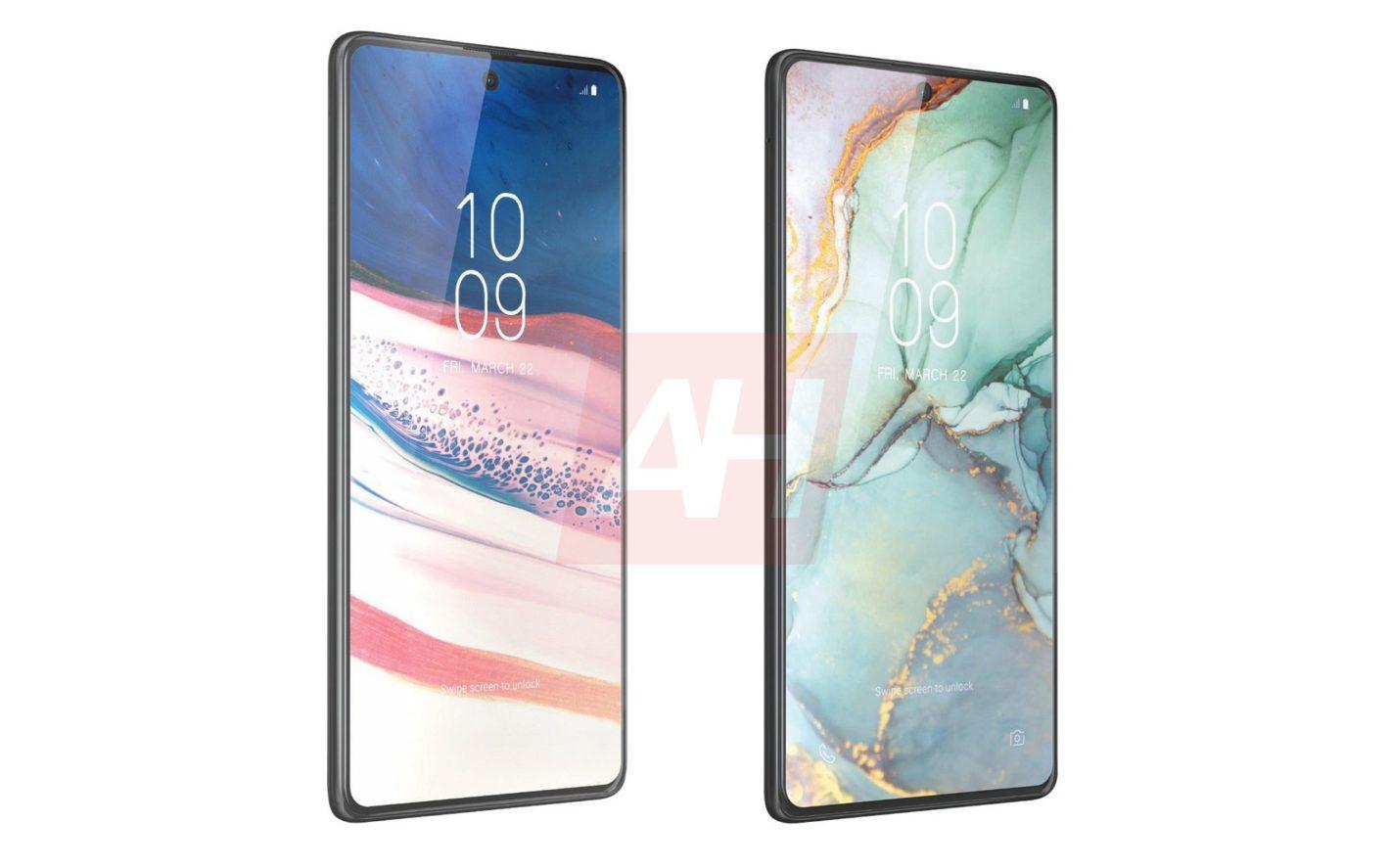 Samsung Galaxy Note10 Lite и S10 Lite на нови рендери