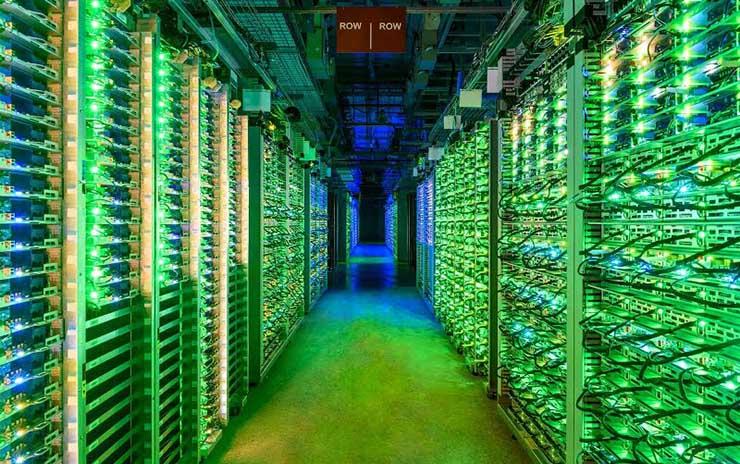 Google гради голем број нови центри за податоци