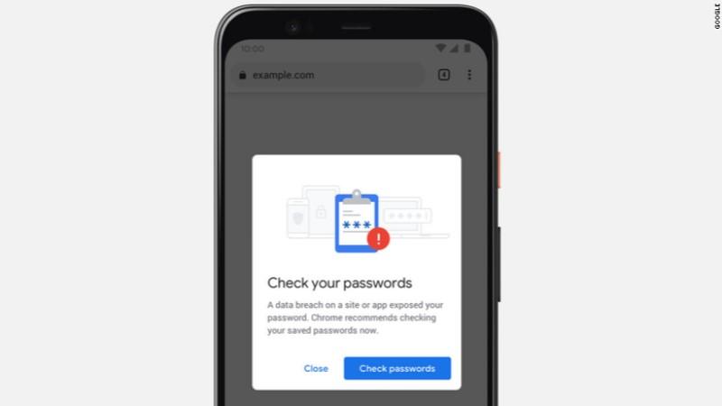 Google Chrome ќе ве извести доколку ви е загрозена лозинката