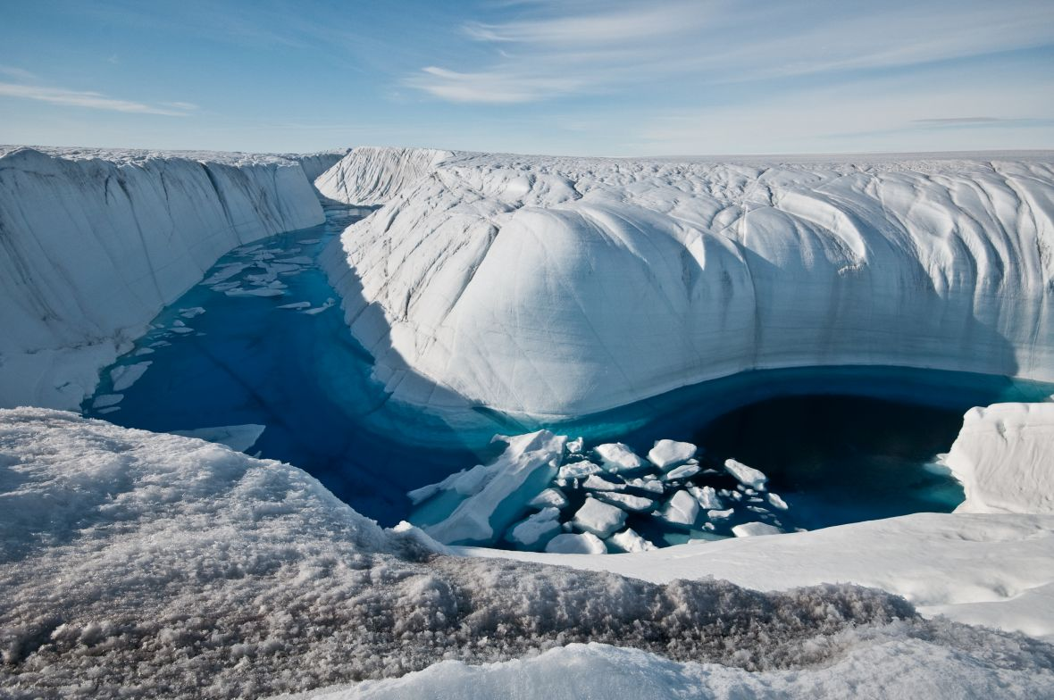 Феномен на Гренланд: Езеро исчезна за само пет часа (ВИДЕО)