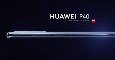 Првиот рендер на Huawei P40 прикажува 6.57-инчен екран