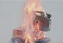 """""""Калашников"""" провери дали може резервоар со бензин да експлодира од куршум (ВИДЕО)"""