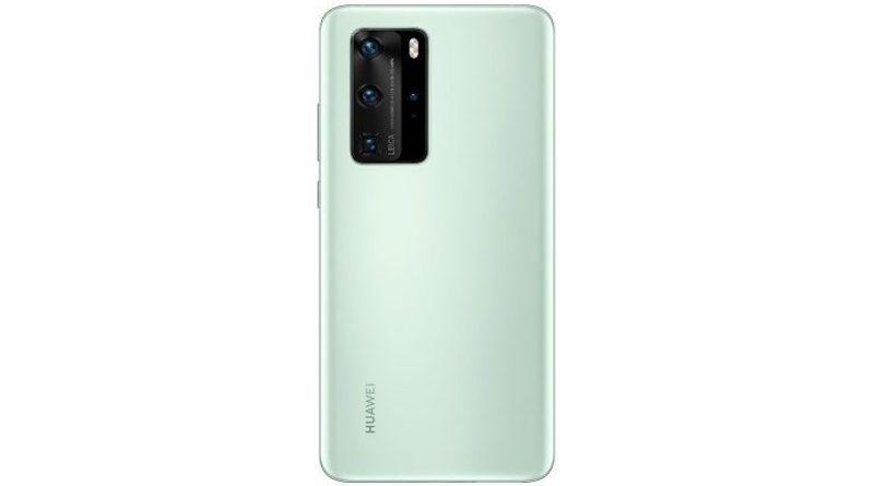 Huawei P40 Pro е прикажан во нова минт зелена боја